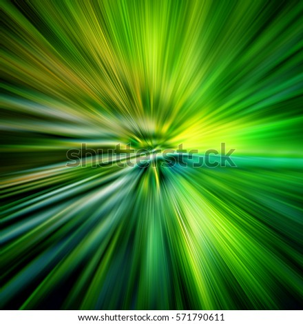 illustration of hyperspace motion concept of interstellar travel or intergalactic travel