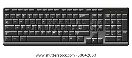 Illustration of keyboard