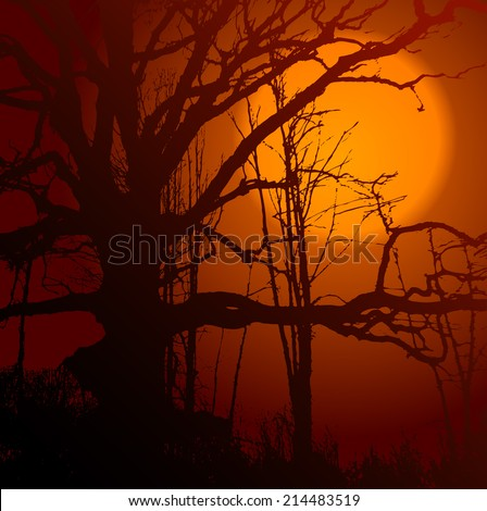 illustration of red wood, background, clip-art