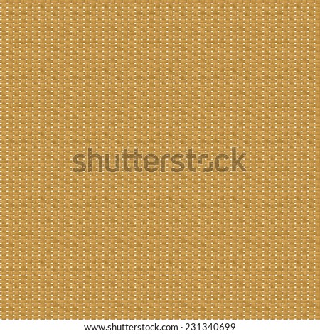 Illustration of seamless rattan texture on white background