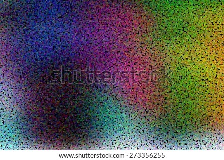 illustration of soft colored abstract background with dotted pointillized style - stock photo