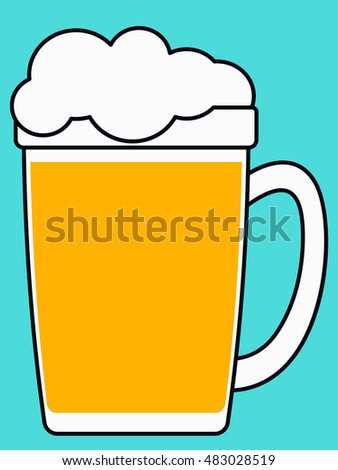 Illustration of the beer mug icon