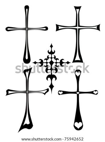 illustration of the cross - stock photo