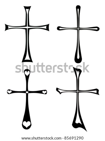 illustration of the cross - stock photo