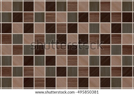 Illustration Of tile background