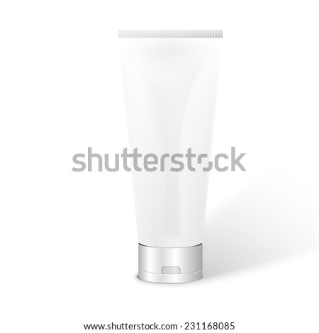 Illustration of Tube for Cosmetic Package - stock photo
