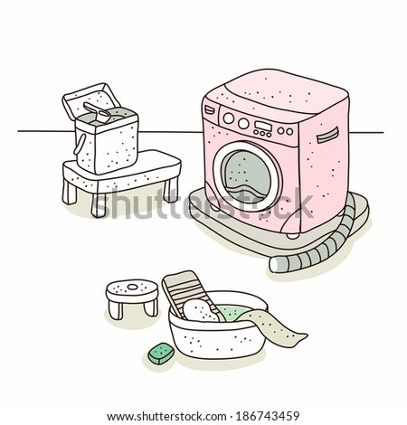 Illustration of Washing machine
