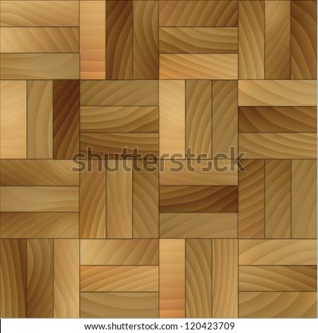 Illustration of wood tiles background. - stock photo