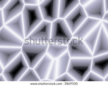 Illustration with black white and gray pattern background