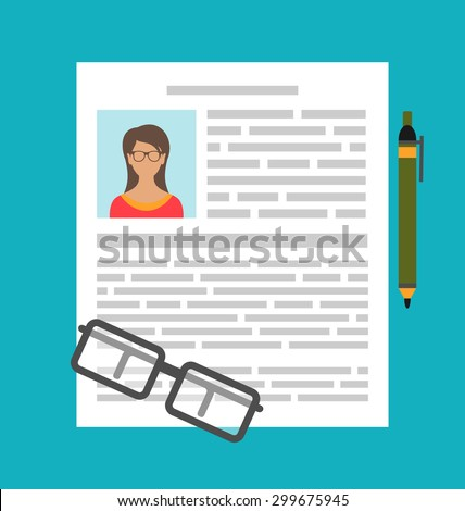Cv Icon Stock Photos Images Amp Pictures Shutterstock