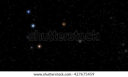 image Abstract Stars constellation night Background