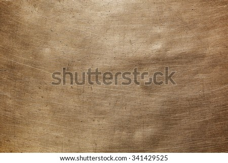 Image background scratches and brown color - stock photo