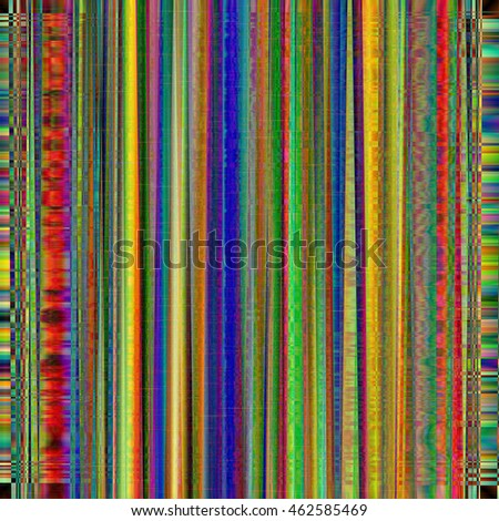 Image color glitch background. Digital image data distortion. Corrupted image file. Colorful abstract background for your designs. Chaos aesthetics of signal error. Digital decay.