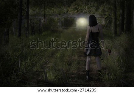 Image depicting an arrival. Could be for a product. - stock photo