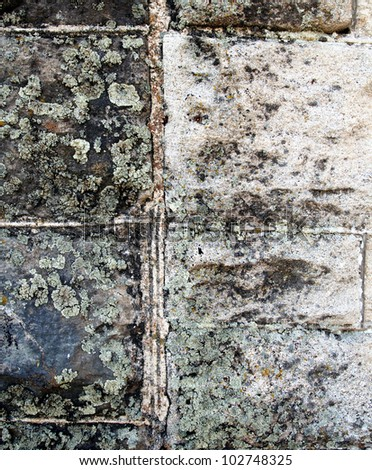 image from exterior building material texture background series (stone, cement, concrete, rock, stucco and metal) - stock photo