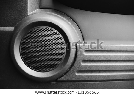 image from interior objects building material texture background series (car speakers)