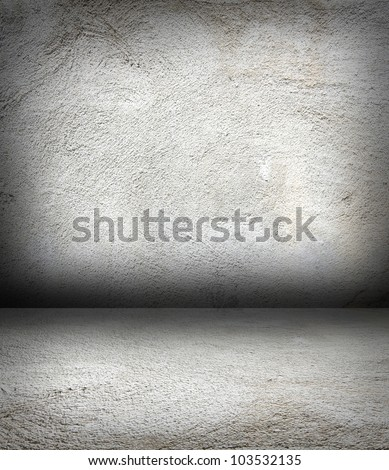 image from old paper grunge wall color texture series - stock photo