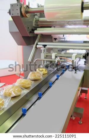 image of a baking machine - stock photo