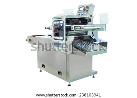 image of a baking machine - stock photo