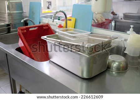 image of a food-processing industry - stock photo