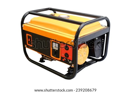 image of a portable power station - stock photo