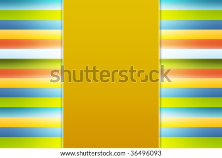 Image of a striped colored background