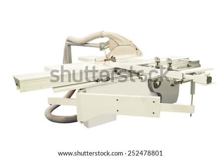 image of a woodworking machine - stock photo