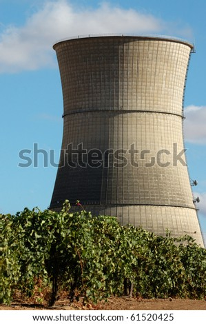 Image of abandoned nuclear power plant.