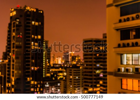 Apartment Building Mumbai Bombay India Night Stock Photo