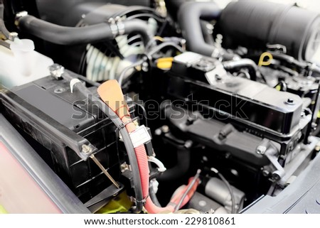 image of an engine - stock photo