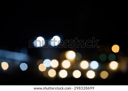 image of blur sea bokeh