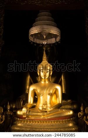 Image of buddha at Wat Bowonniwet Vihara - stock photo