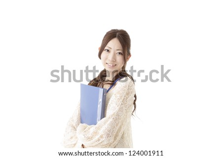 Image of business woman casual dress - stock photo