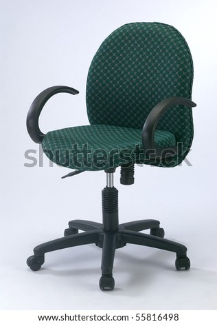 image of chair on the plainn background - stock photo