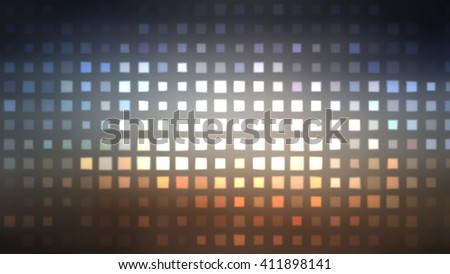 Image of defocused stadium lights.  Abstract grey background.