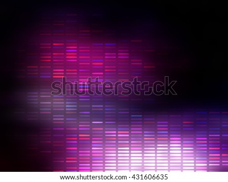 Image of defocused stadium lights.  Abstract pink background.