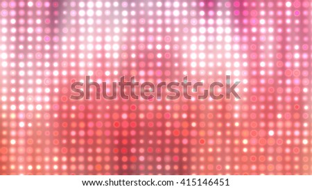Image of defocused stadium lights.  Abstract red background.