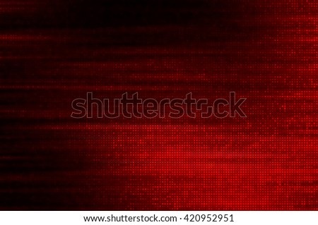 Image of defocused stadium lights.  Abstract red background. - stock photo
