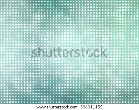 Image of defocused stadium lights.  Background blue and green.