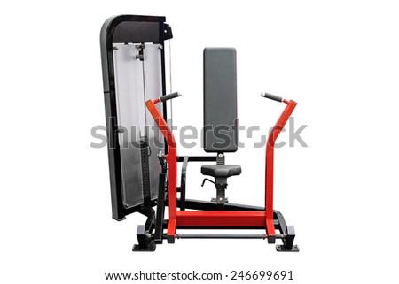 image of gym apparatus - stock photo