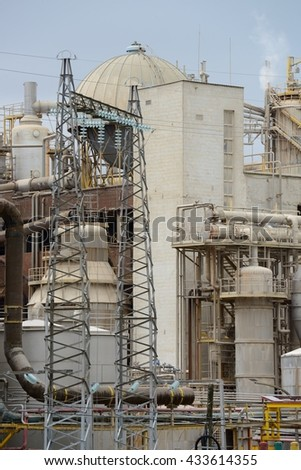 image of Industrial factory - stock photo