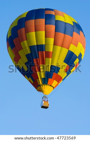 Image of international hot air balloon festival. - stock photo