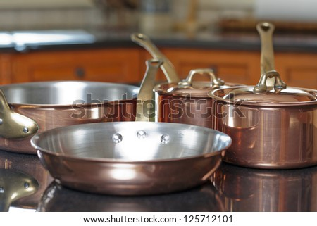 Image of kitchen ware - stock photo