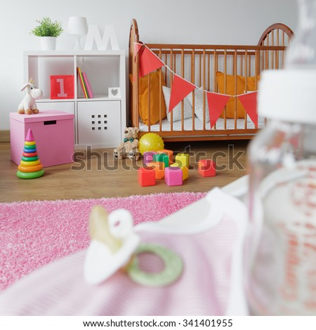 Image of light and cosy space for newborn child