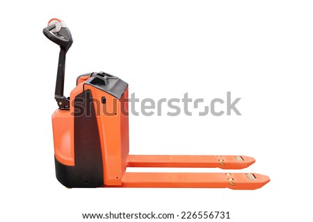 image of loader under the white background
