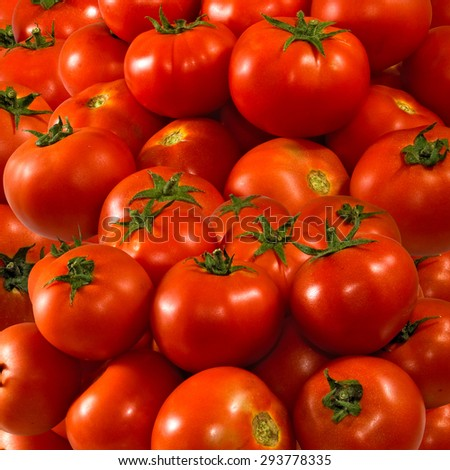 image of many ripe tomatoes