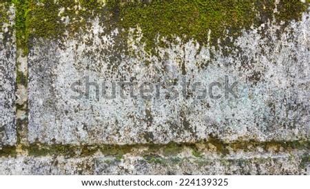 image of old concrete wall texture for background usage.