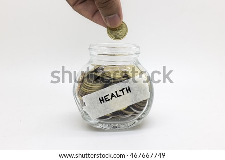 image of savings money for medical