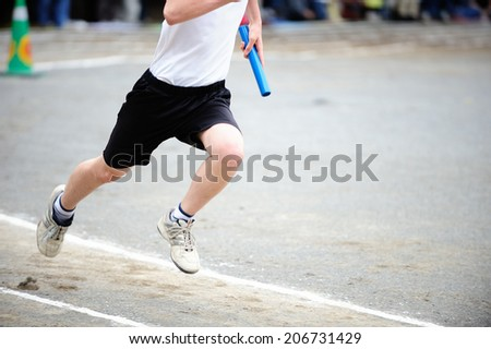 Image Of Sports Day - stock photo