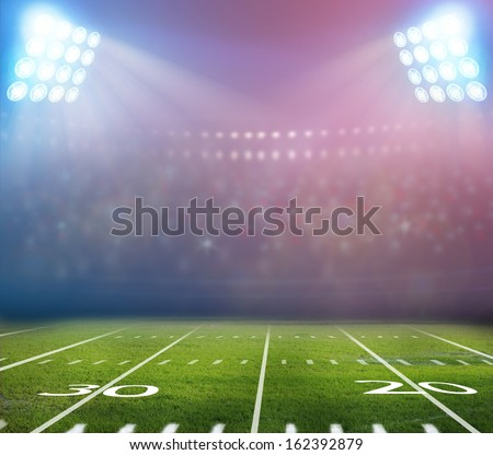 Image of stadium - stock photo